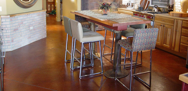 Acid Stained Colored Concrete Company