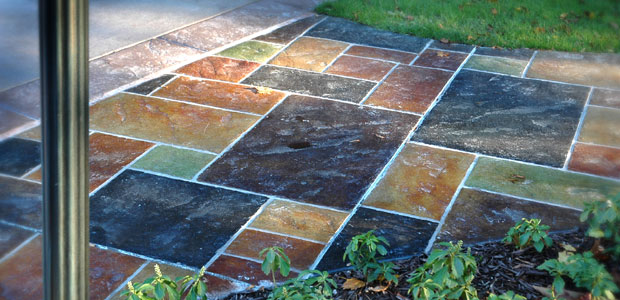 Grand Rapids Decorative and Colored Concrete