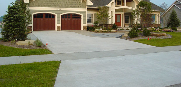 how to build a gently steep driveway